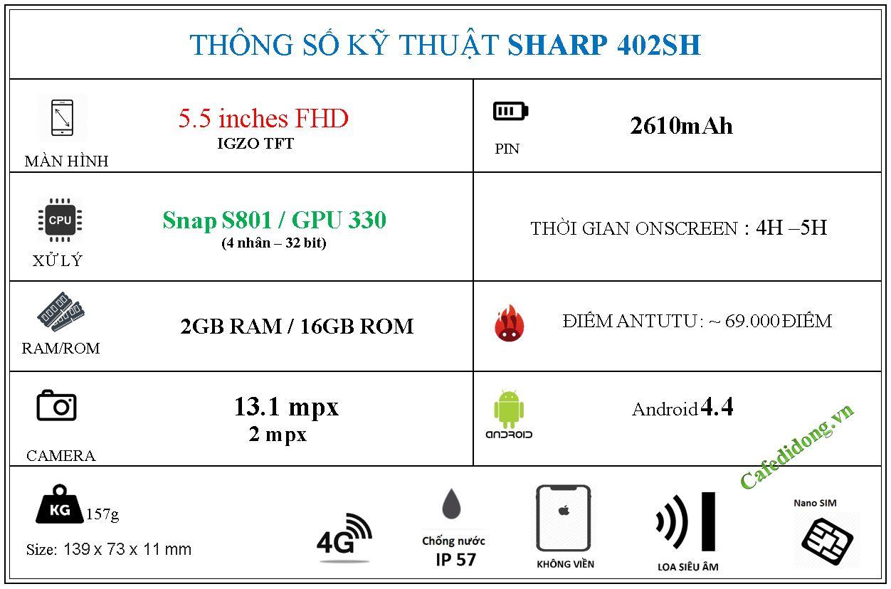 SHARP 402SH