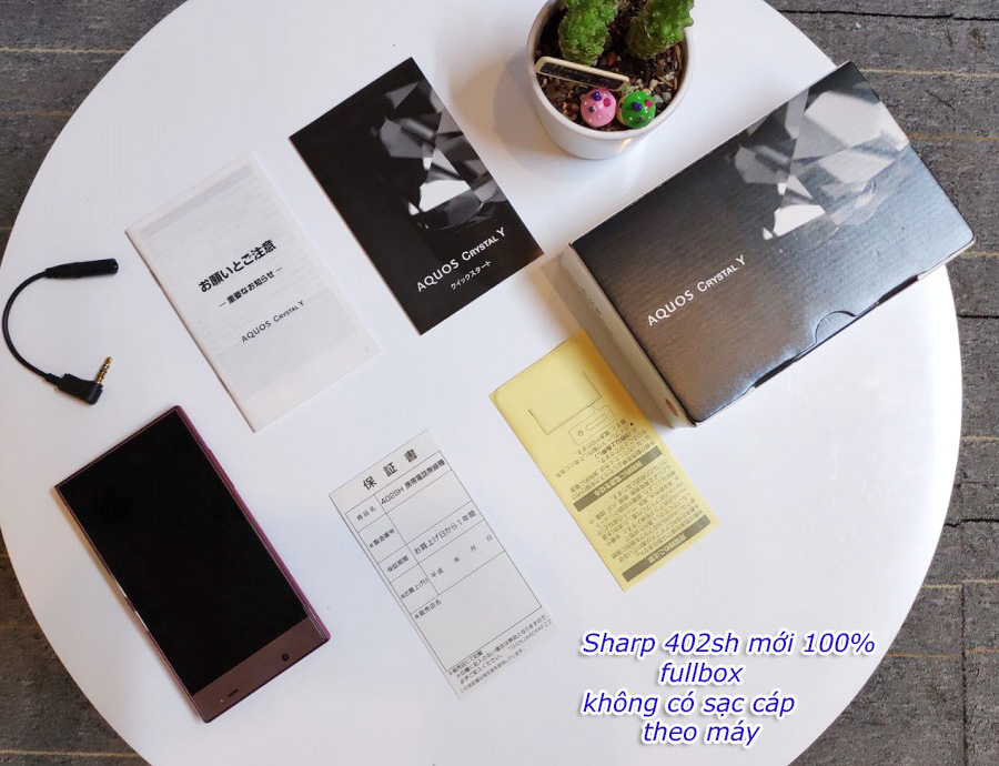 SHARP 402SH MỚI 100% CHƯA XÀI