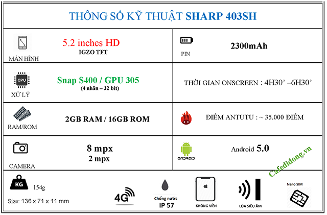 SHARP-403SH