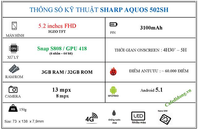 SHARP 502SH