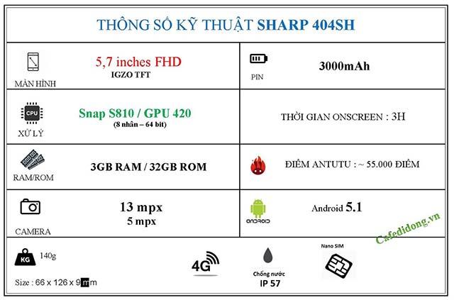 SHARP 404SH