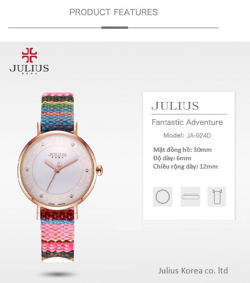 Đồng hồ Julius JA 924