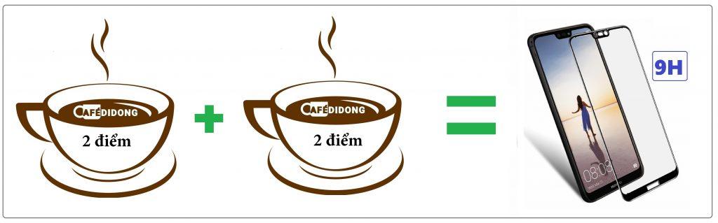 CAFEDIDONG-STICK ĐIỂM