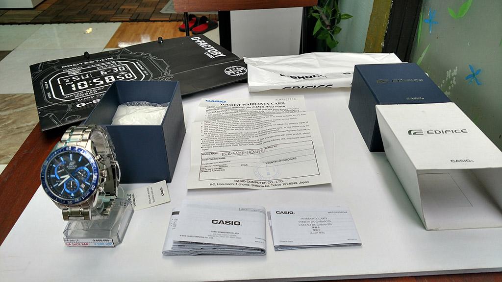 CASIO EFR-552D-1A2VUDF