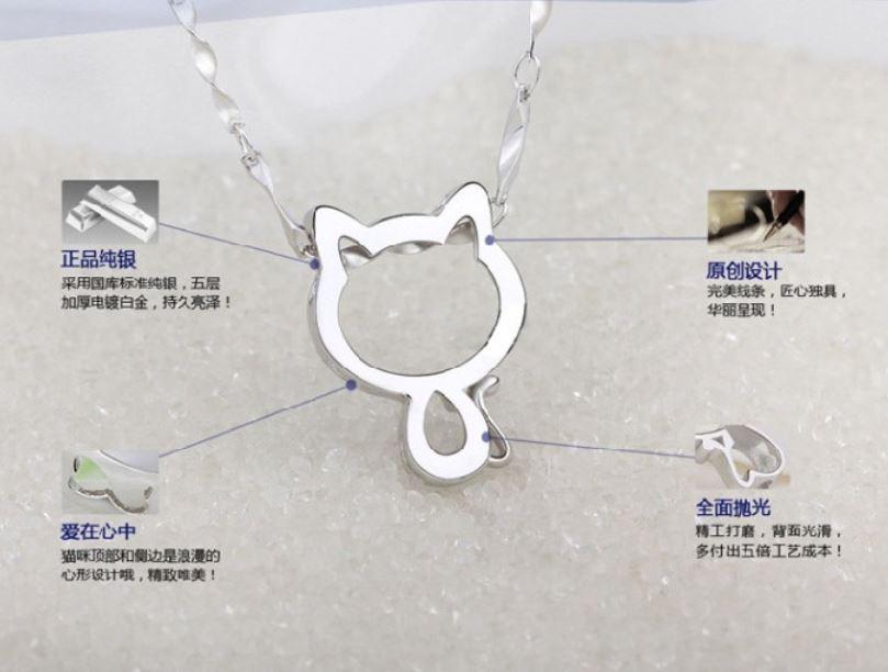 Mặt dây chuyền Mèo