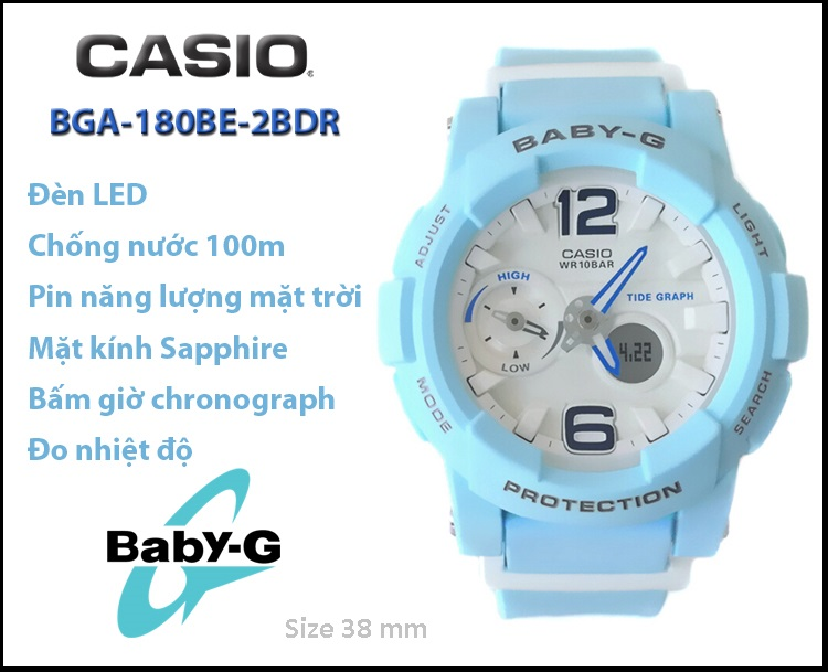 CASIO BGA-180BE-2BDR