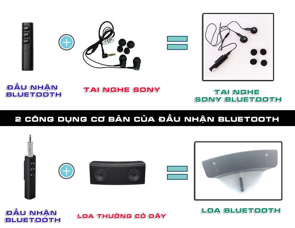 Hướng dẫn sử dụng đầu nhận Bluetooth